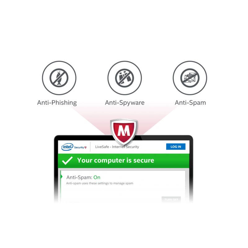 McAfee LiveSafe 2019 (Unlimited) Devices