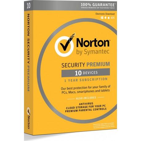 Norton Security Premium 10 device