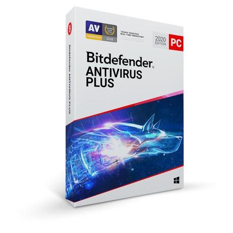 Bitdefender Antivirus Plus 2021 (3 PC) Device 1 Year
