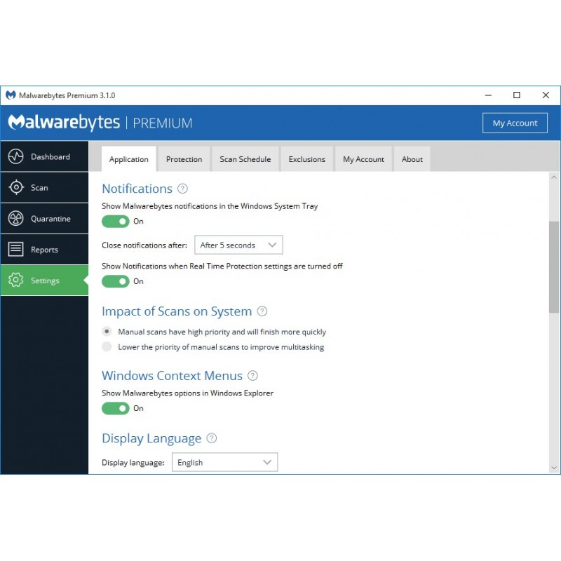 Malwarebytes Premium Anti Malware 1 Year 3 Devices Digital License