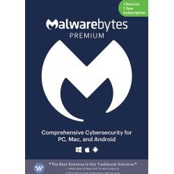 Malwarebytes Premium (1 Device) 1 Year License