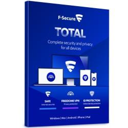 F-Secure Total - Premium Antivirus, Internet Security & VPN