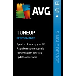 AVG TuneUp 1 PC 1 Year Subscription