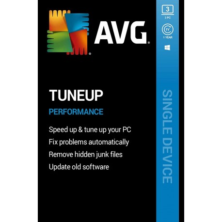 AVG TuneUp 3 PC 1 Year Subscription