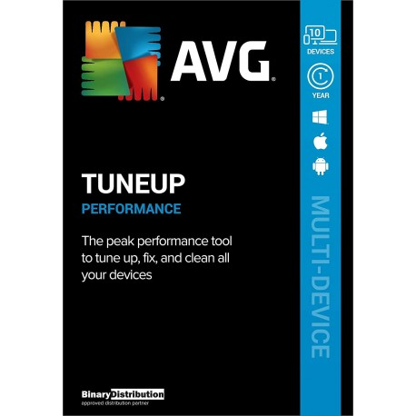 AVG TuneUp 10 Devices 1 Year License