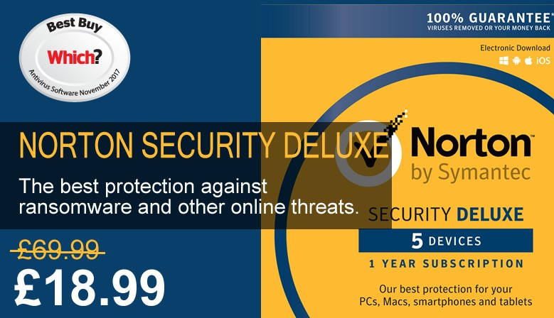 Norton Security Deluxe 5 Devices / Users